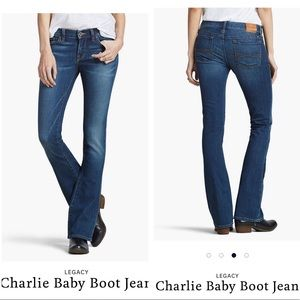 Lucky Brand 2/26 Charlie Baby Boot Jeans